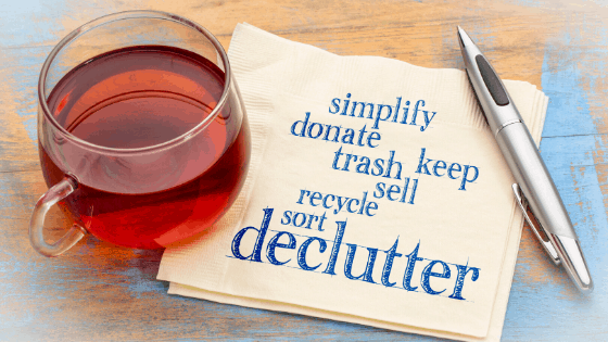 declutter like a boss