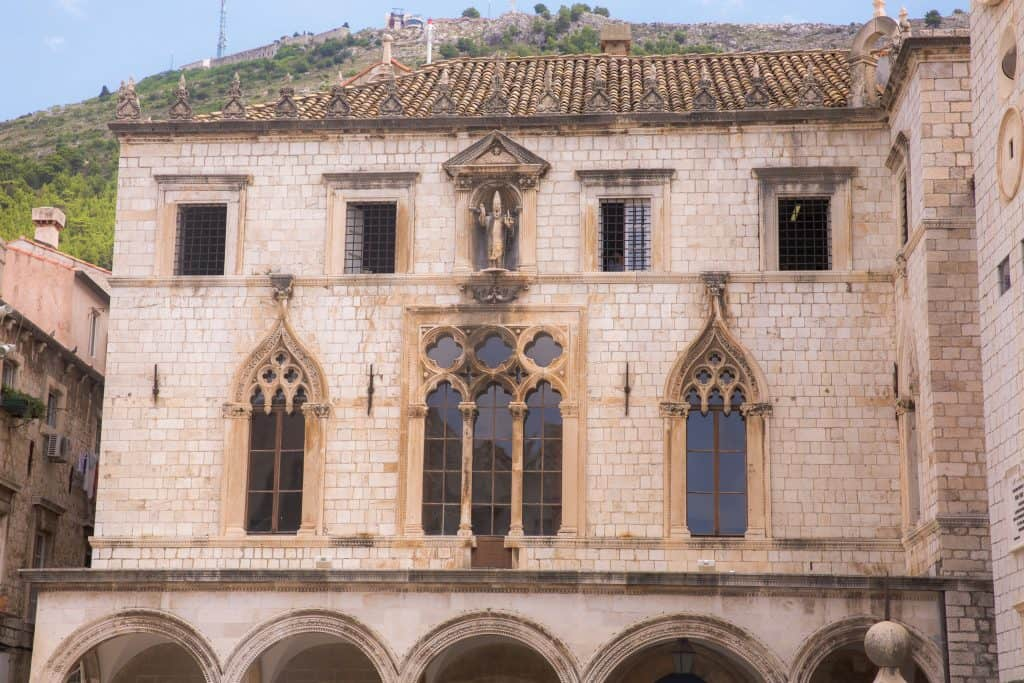 things to do in Dubrovnik-Sponza Palace