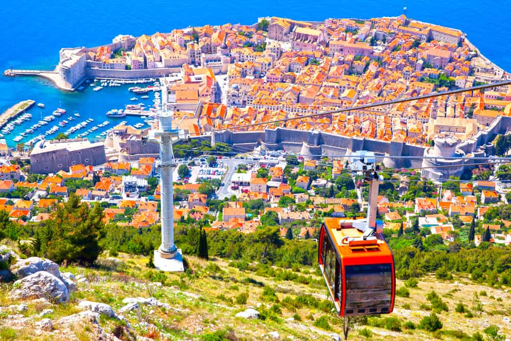 Cable Car - Dubrovnik