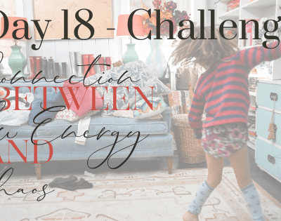 Day 18 – The Connection Between Low Energy and Chaos