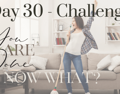 Day 30 – Wrap Up and Where Do We Go from Here?