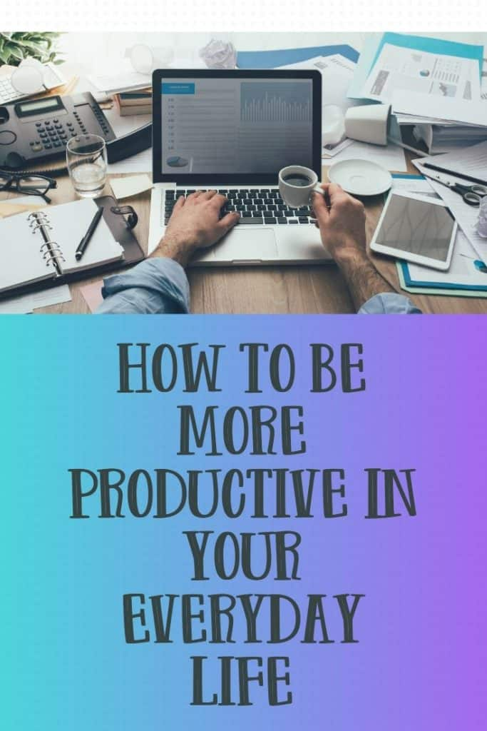 Productivity Goal Planner