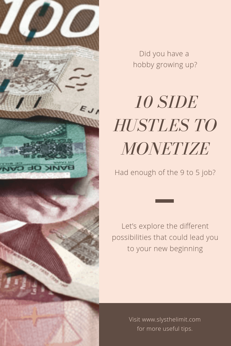 10 Side Hustles to Monetize