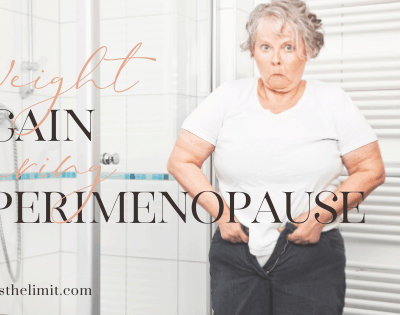 weight gain during perimenopause